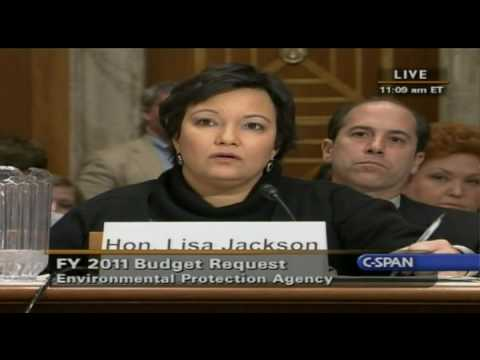 CLIMATE GATE: Sen Inhofe Schools EPA Lisa Jackson on Climate Change Hoax 2-23-2010