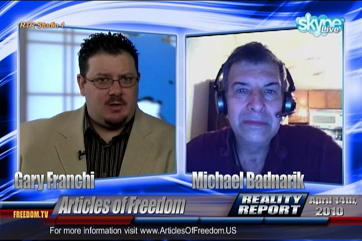 Reality Report Special Interview - Michael Badnarik