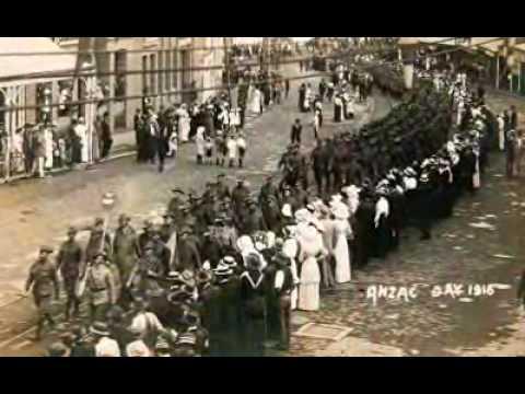 Australias 1st Anzac day march