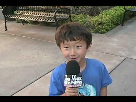 Kids Attack President Obama