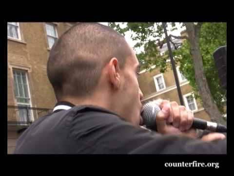 Lowkey | Gaza Freedom Flotilla Massacre protest | London 31 May 2010
