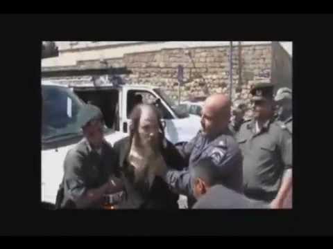 Israeli Police brutality against Old Religious Jews in Jerusalem