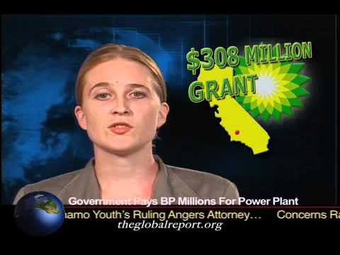 U.S. Government Pays BP Millions For Power Plant
