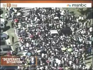 30000 People Show Up For Public Housing Help In Atlanta Riots Police