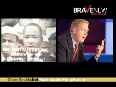 Glenn Beck is NOT Martin Luther King Jr.