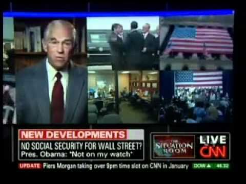 Ron Paul on Social Security, Quran Burning, Rand Paul Poll
