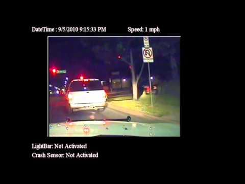 Dash Cam! Dallas Cops Premeditated Beating of Motorcycle Rider
