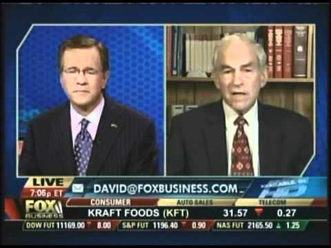 Dr. Ron Paul says Rand and I will introduce legislation to End the Fed! First day!
