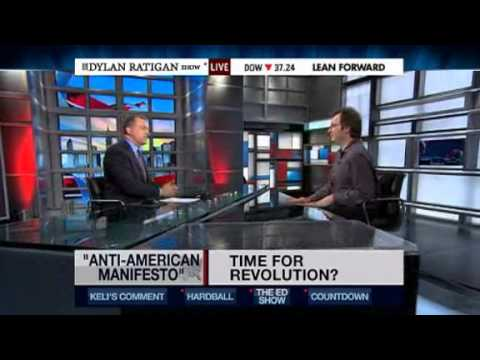 MSNBC's Dylan Ratigan: The Answer To America's Woes Is 'Obviously' Revolution