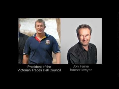 Aussie Trades Unionist Exposes 9/11 Cover-up