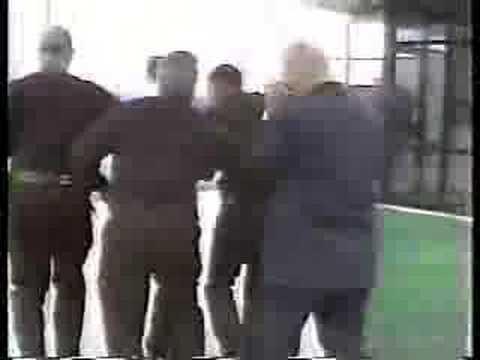 Alex Jones Confronts George Bush