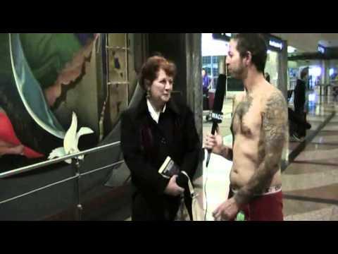 New World Order Airport Underwear Interviews