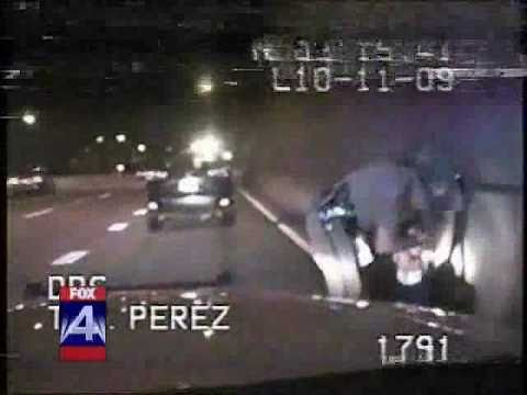 Ruthless cop smashes victim's face into wall — Raw, graphic and uncut dashcam video footage