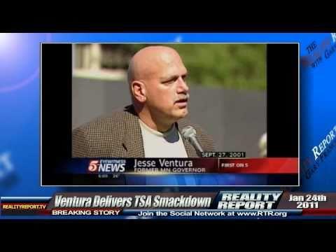 Jesse Ventura Delivers TSA Smackdown