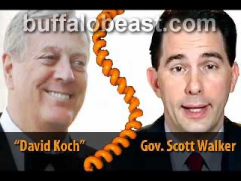 Koch Whore: Wisconsin Gov. Scott Walker