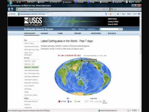 ALERT !  NORTH POLE EARTHQUAKE !  4.8 magnitude -- March 3, 2011