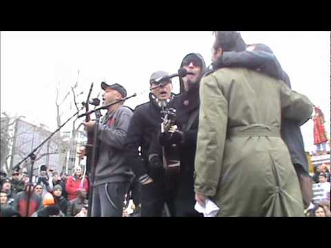 Tom Morello - Wisconsin Protests - Letter from Cairo and uncensored This Land is Your Land