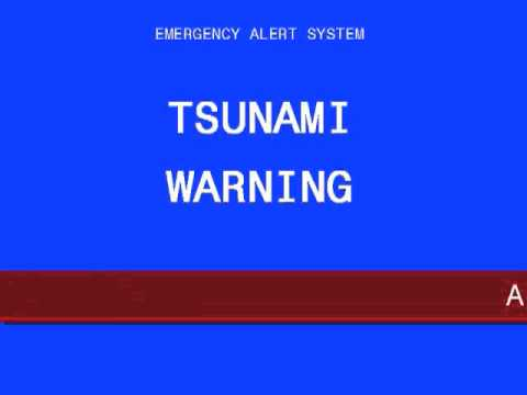 EAS - ALERT -  Tsunami Warning (TSW) for Hawaii