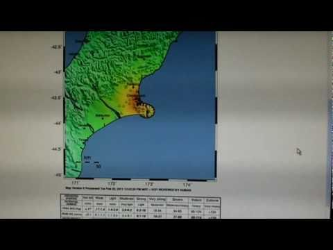 HAARP chart for New Zealand Quake, evidence of man made disaster Feb 21,2011