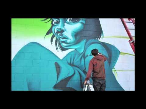 Graffiti Artist Against the NWO: Mear One - LA Fonderie [Joker & Flux Pavillion]