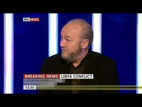 George Galloway on Wests Libya intervention (19Mar11)