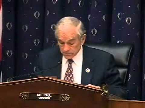Ron Paul Hearing 3/17/11: Relationship of Monetary Policy and Rising Prices