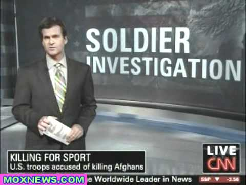 """""""Killing For Sport"""" U.S. Troops Charged With Murder For Killing Of Afghans"""