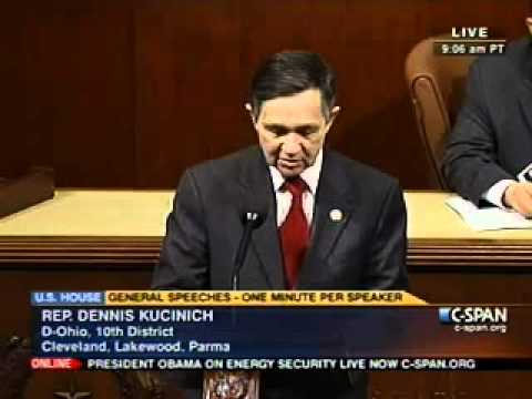 KUCINICH: American Democracy is the Critical Issue