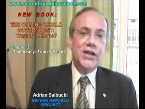 """Salbuchi's New Book: """"The Coming World Government: Tragedy & Hope?"""""""