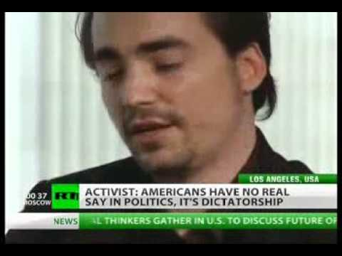 Zeitgeist Creator Peter Joseph Interview on Venus Project,World Issues