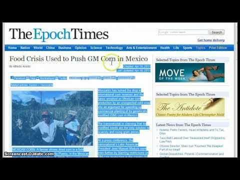 Global Government News - News Bulletin :: April 21, 2011 Parts 1-4