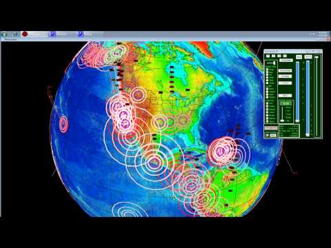 4/27/2011 -- Earthquake Update and Overview -- also 2 week forecast for USA