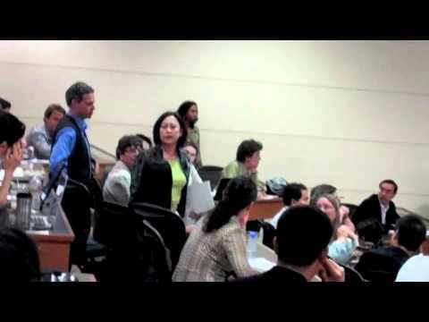 Activists Confront Condoleeza Rice at Stanford University