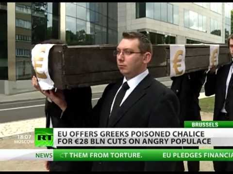 RIP Euro, 1999-2011: Poisoned chalice for Greeks amid rage & anger