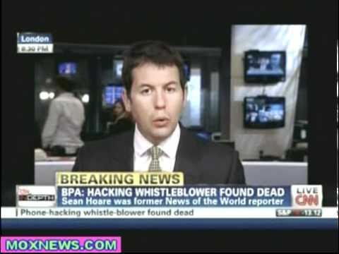 Murdoch Hacking Whistleblower Found Dead!