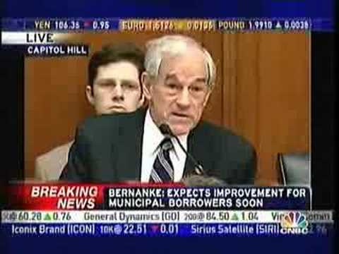 Ron Paul: Bernanke Deliberately Destroying Dollar