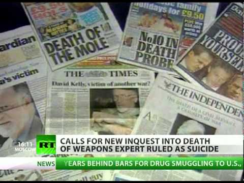 UK foul play? 'Suicide' of Iraq weapons expert contested