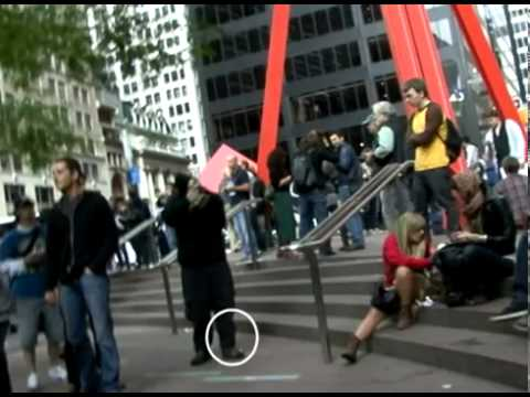 The New York Police Department has locked down Wall Street. Occupy Wall Street