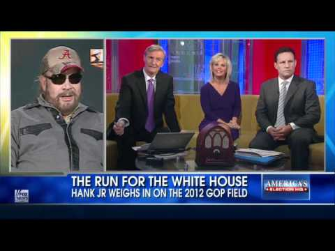 Hank Williams Jr. Compares Obama to Hitler.- Fox & Friends - 10/3/11