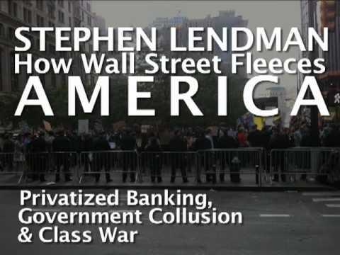 HOW WALL STREET FLEECES AMERICA: Stephen Lendman