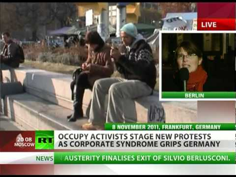 Occupy Reichstag: Thousands march in Germany