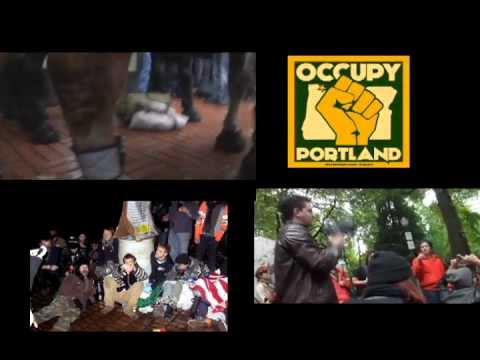 WE ARE THE 99  Percent - Occupy Portland music video
