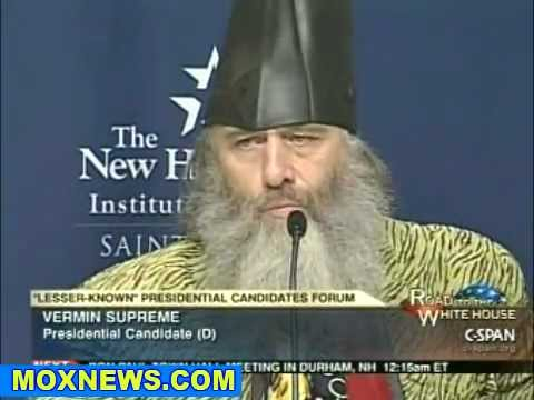 Meet Vermin Supreme 2012 Presidential Candidate