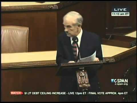 Ron Paul-NDAA Floor Speech Jan 18