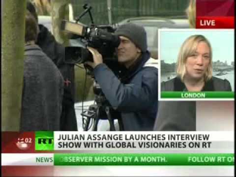 Wikileaks Julian Assange TV Show on Russia Today