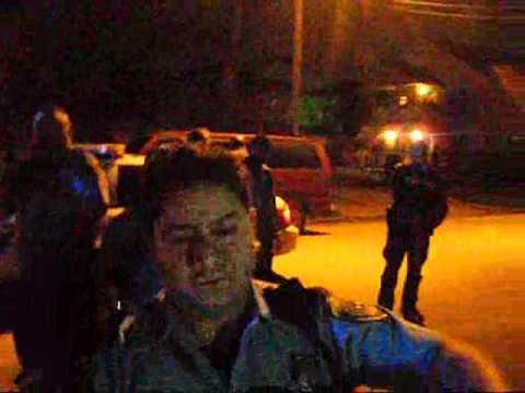 HPD Assaults Man, Pulls and Cocks Shotgun on Crowd