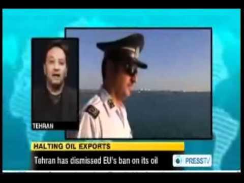 Iran Stops Oil To Britain, France -Feb 2012