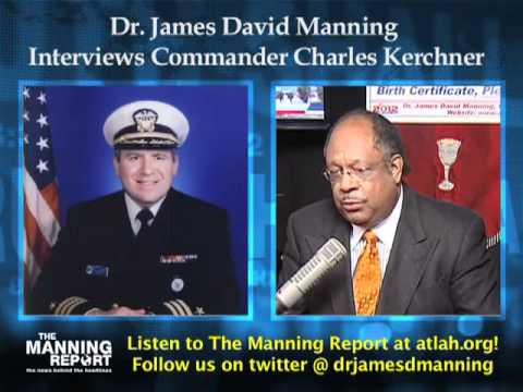 Dr. Manning interviews Commander Charles Kerchner