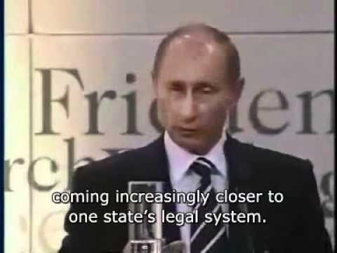 Vladimir Putin exposes the NWO Part 1