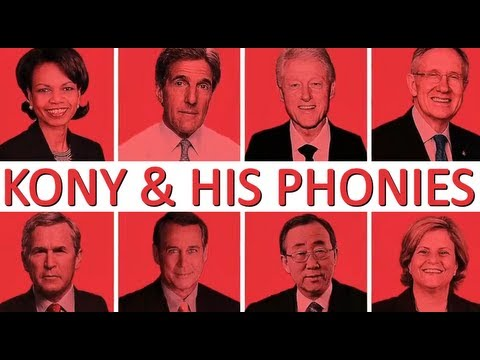 KONY 2012 SCAM... Bankers Outsmarted by Millions of Young Activists?